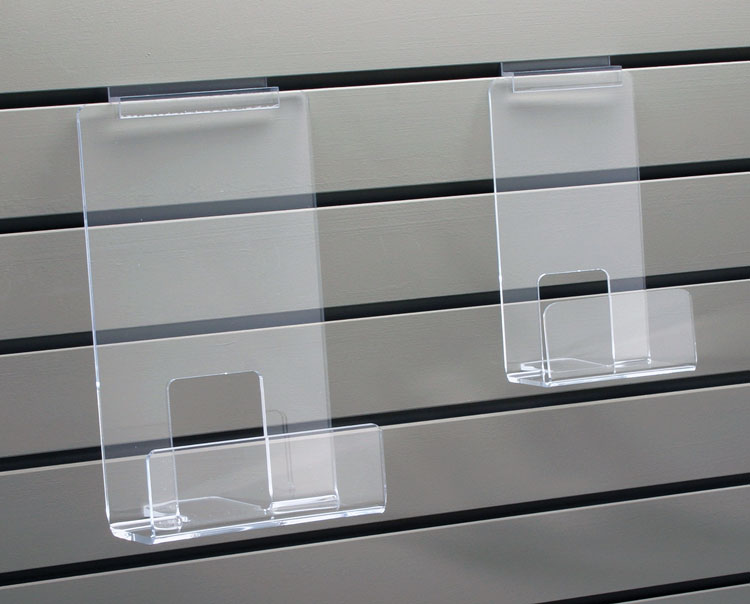 Slatwall Bookshelves