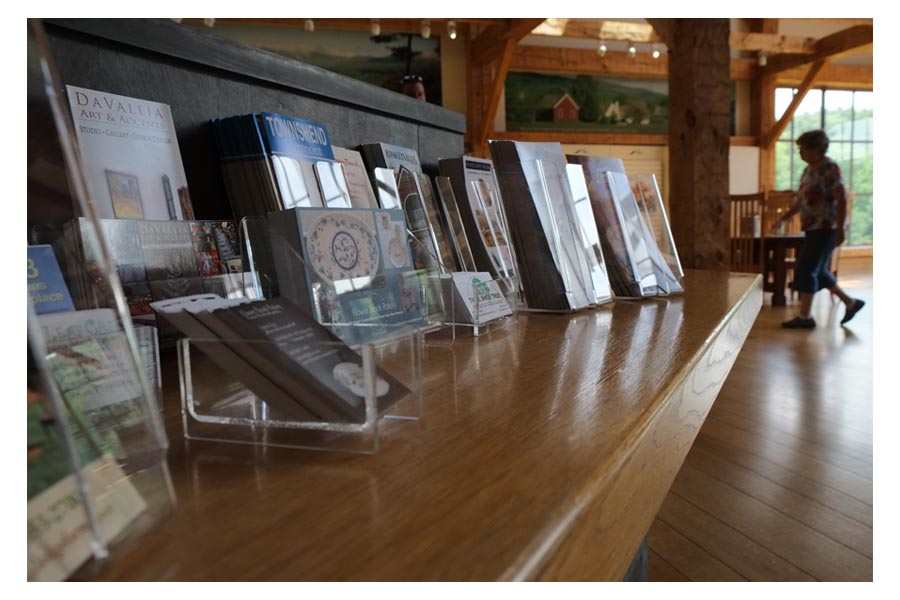 Countertop Brochure Racks, Stands and Holders from Clear Solutions ...