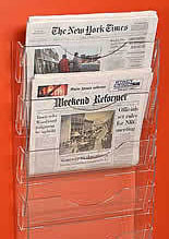Newspaper Racks, Stands and Displays