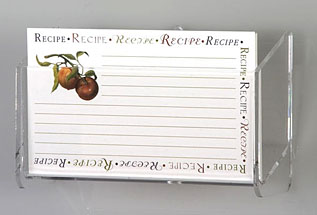 Recipe Card Displays
