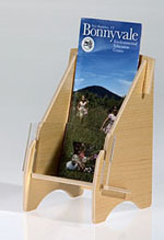 Wooden Brochure Holders
