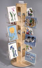Plywood Greeting Card Displays